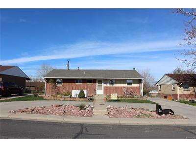 Denver Single Family Home Active: 901 Bronco Road