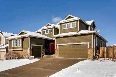 Castle Rock Single Family Home Active: 773 Tarpan Place