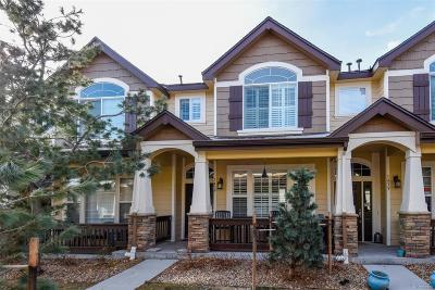 Castle Rock Condo/Townhouse Active: 1439 Royal Troon Drive
