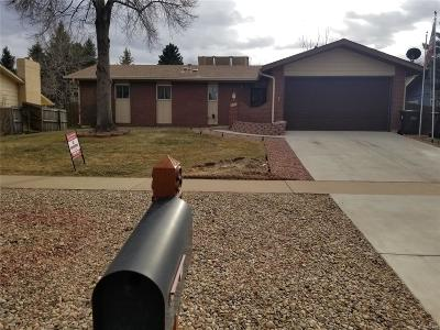 Broomfield Single Family Home Under Contract: 870 Miramonte Boulevard