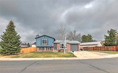 Broomfield Single Family Home Under Contract: 1059 Lilac Street