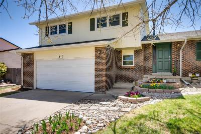 Lone Tree Single Family Home Under Contract: 812 Altair Drive