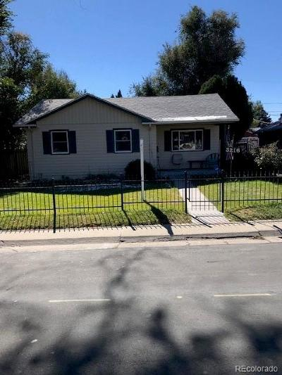 Denver Single Family Home Active: 3216 West Dakota Avenue
