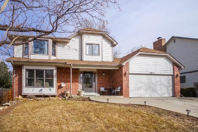 Westminster Single Family Home Active: 3833 West 99th Place