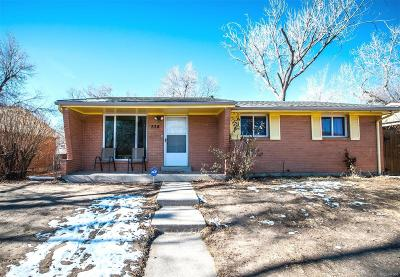 Colorado Springs Single Family Home Active: 534 Winnepeg Drive