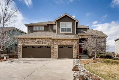 Castle Rock Single Family Home Under Contract: 1741 Rosemary Drive