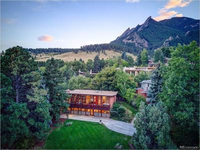 Boulder Single Family Home Active: 430 Christmas Tree Drive