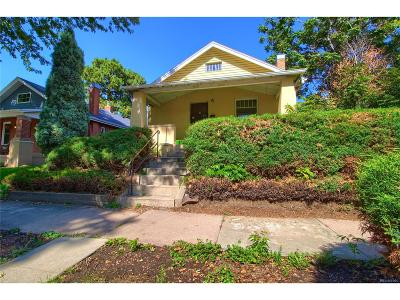 Single Family Home Under Contract: 3317 West 33rd Avenue