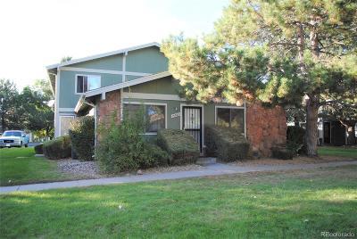 Aurora Condo/Townhouse Under Contract: 13381 East Louisiana Avenue
