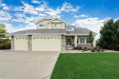 Castle Rock Single Family Home Under Contract: 1801 Aquamarine Way