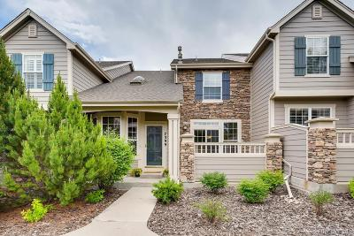 Castle Pines Condo/Townhouse Under Contract: 7399 Norfolk Place