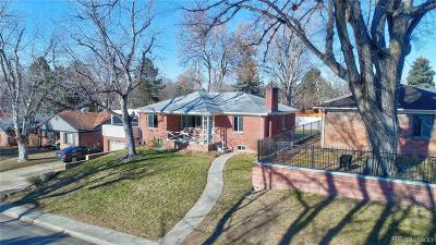 Denver Single Family Home Active: 7025 East 11th Avenue