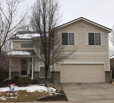 Littleton Single Family Home Active: 10440 Cheetah Winds