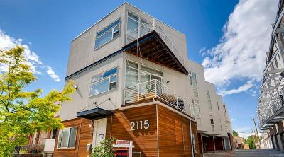 Denver Condo/Townhouse Under Contract: 2115 West 32nd Avenue #3