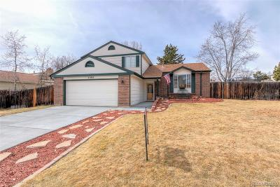 Littleton Single Family Home Under Contract: 7395 South Cody Street