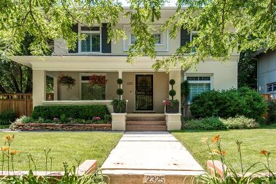Single Family Home Sold: 2325 Bellaire Street