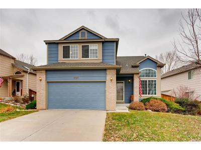 Highlands Ranch Single Family Home Active: 5165 Weeping Willow Circle