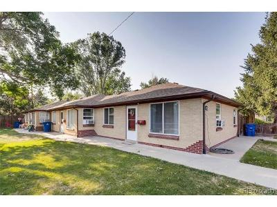 Lakewood Multi Family Home Under Contract: 1655 Pierce Street