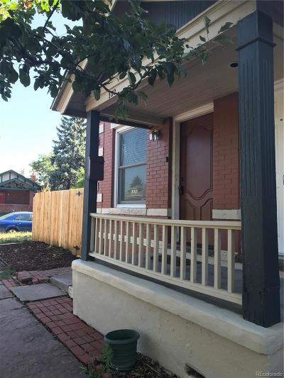 Denver CO Condo/Townhouse Active: $315,000
