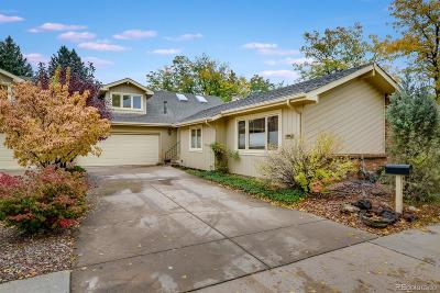 Boulder CO Condo/Townhouse Active: $625,000