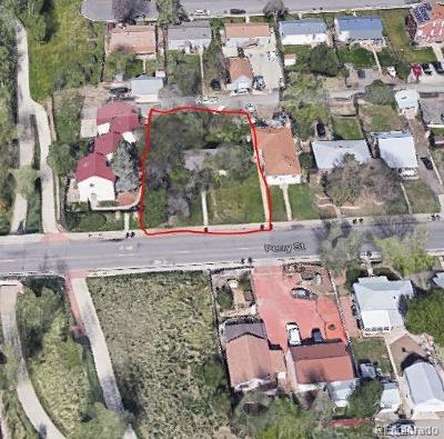 Denver Residential Lots & Land Active: 927 Perry Street