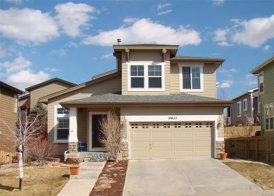 Highlands Ranch Single Family Home Under Contract: 10832 Towerbridge Road