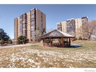 Denver Condo/Townhouse Active: 7877 East Mississippi Avenue #101