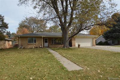 Wheat Ridge Single Family Home Under Contract: 3370 Estes Street