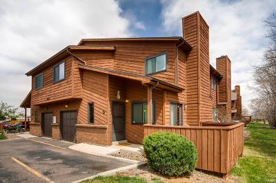 Lakewood Condo/Townhouse Active: 10290 West Jewell Avenue #D