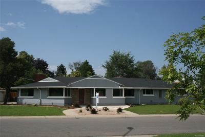 Denver Single Family Home Under Contract: 785 South Bryant Street