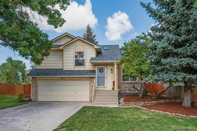 Castle Rock Single Family Home Active: 761 Howe Street