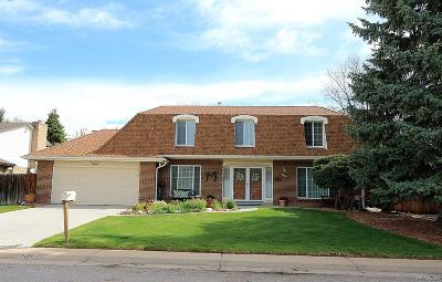 Littleton Single Family Home Active: 7458 South Depew Street
