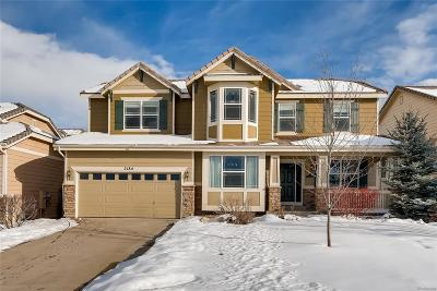 Castle Rock Single Family Home Under Contract: 2184 Bellavista Street