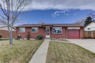 Arvada Single Family Home Under Contract: 8421 Benton Street