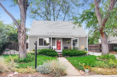 Aurora Single Family Home Under Contract: 10595 Lowry Place
