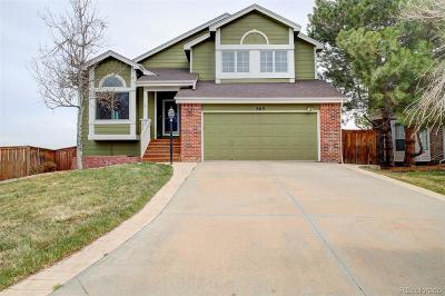 Highlands Ranch Single Family Home Under Contract: 869 Redwood Court