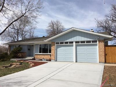 Denver Single Family Home Active: 8195 East Mansfield Avenue