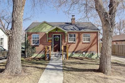 Edgewater Single Family Home Under Contract: 2230 Harlan Street