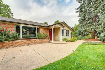 Wheat Ridge Single Family Home Active: 3845 Everett Street