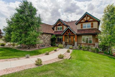 Parker Single Family Home Under Contract: 566 North Pines Trail