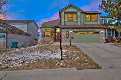 Highlands Ranch Single Family Home Under Contract: 9358 Burgundy Circle