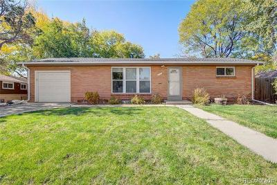 Arvada Single Family Home Active: 6573 Teller Street