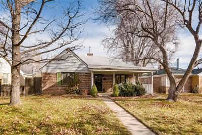 Denver Single Family Home Active: 902 Pontiac Street