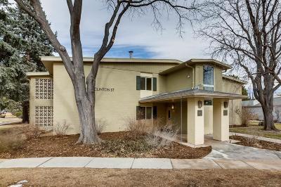 Denver Condo/Townhouse Active: 615 South Clinton Street #1B