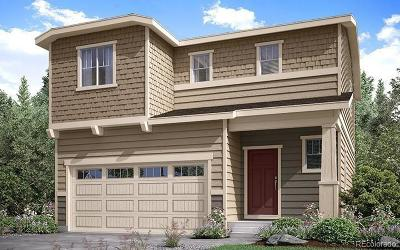 Castle Rock Single Family Home Under Contract: 3361 Evening Place