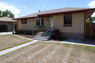 Commerce City Single Family Home Active: 6981 Magnolia Street
