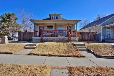 Denver Condo/Townhouse Active: 3958 Navajo Street