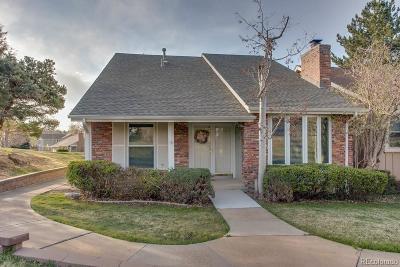 Centennial CO Single Family Home Under Contract: $469,000