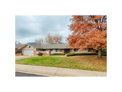 Boulder Single Family Home Under Contract: 385 Erie Drive