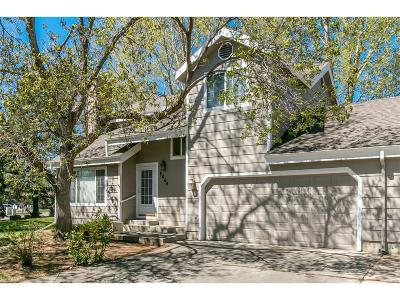 Niwot Condo/Townhouse Under Contract: 8064 Meadowdale Square